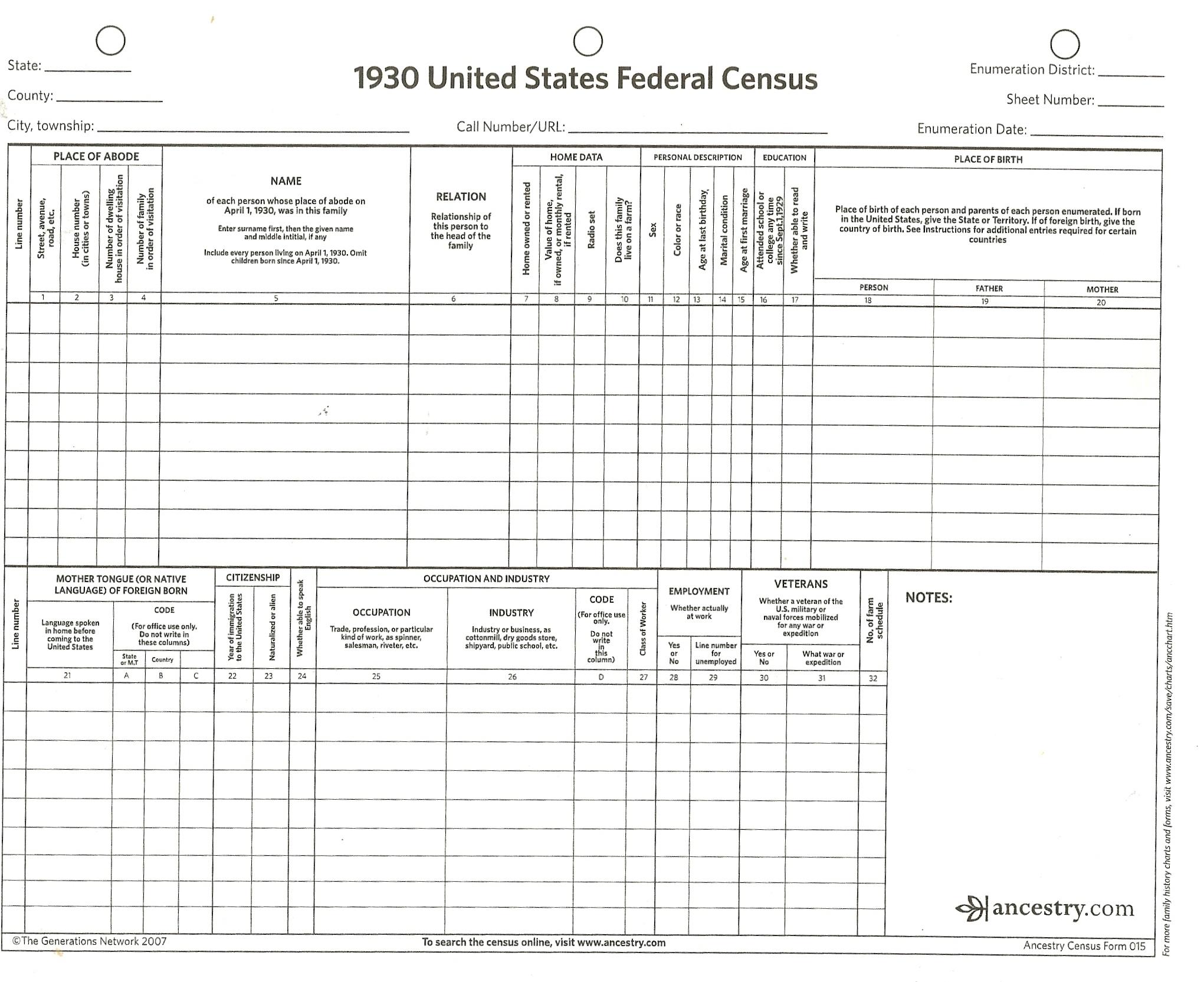 1800 blank census form rehage codeemperor com